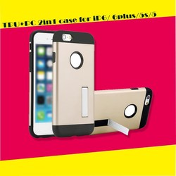 For Apple Iphone 6 Case, For Iphone 6 Armor Case With Bumper Frame, Hard Case For Iphone 6