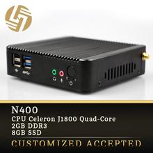 Factory direct Quad core Turbo Boost 2.58GHz 2G ram SSD 12v latest mini computer