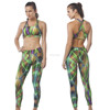 High quality Fitness women sport wear ladies activewear polyester and spandex fabric