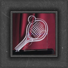 good quality exquiste personal design crystal tennis ball for honer awards
