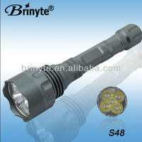 rechargeable searching led power style flashlight