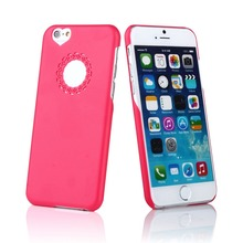 Lover Cute Fashion Design Lovely Flower Love Heart Hard Case Cover for iPhone 6plus