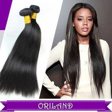 ORILAND Hair Unprocessed Virgin Brazilian Hair Weave Straight Hair