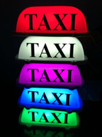 12V Taxi LED top Roof Sign light with Magnetic Base