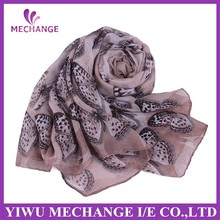 Fashion large size voile Print Shawl Scarf wrap stole new style hijab scarf
