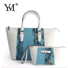 2015 popular custom handbag pu leather luxury korean style lades hand bag best selling
