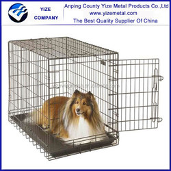 "Dog Crate Metal Wire Cage Strong/48"" Exercise Pen with Door"