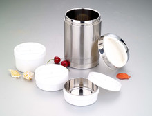 New product 1.8L vacuum stackable stainless steel lunch box/food container