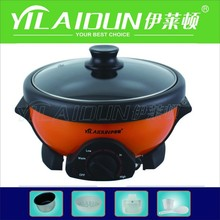Colorful Electric Multi Cooker Luxury Electric Hot Pot Cooker