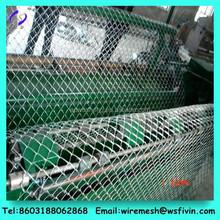 Galvanized /vinyl coated pvc coated chain link fence price/chain link fabric( 20 Year/PVC coated or Galvanized Chain Link fence