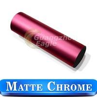 Cars Accessories Matte Metallic Chrome Vinyl Stickers To Decorate Mirror