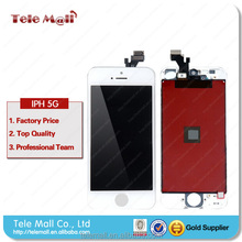 Fast Delivery Large Stock Wholesale LCD With Digitizer Assembly For iPhone 5, For iPhone 5 LCD, For iPhone 5 LCD With Digitizer