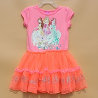 Summer Dress Design Patterns Kids Childrens Costumes Princess Baby Cotton Frock Design For 3 Years Old Girl Wear