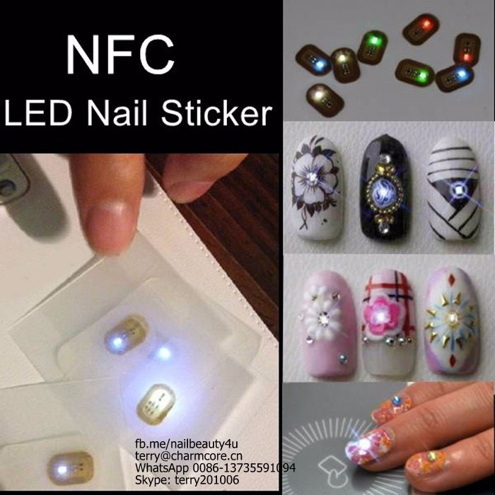 Sticky Nfc Nail Art Sticker Decails For Nail Art Decoration - Buy ...