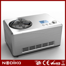portable ice cream machine 2.0L with R134a