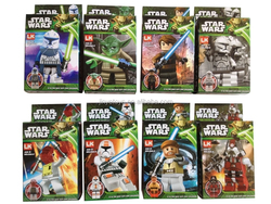 2015 star wars minifigure building block plastic toys juguetes for kids wholesale import china
