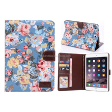 2015 new for apple ipad mini3 stand leather case, case for ipad mini3