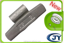 35g Fe FN series wheel balance weigth used on most North American vehicles with alloy wheels