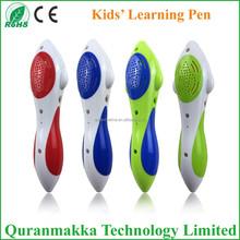 2014 new good quality kids electronic educational toys talking pen