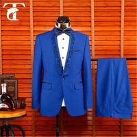 Italian Style Business Men Clothing 2 Buttons Brand Named men slim fit wedding suits