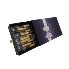 Gift box packaging 10pcs high quality makeup brush japan wholesalers