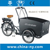 2015 electric three wheel front load tricycle/front load cargo bike