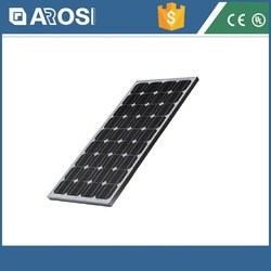 Hot sales!! High efficiency 30V/36V poly 80w solar panel for home with 36 solar cell, solar panel system