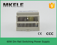DR-60-15 4a 15v dinrail mingwei din rail power supply 15v dc output din rail switched power supply
