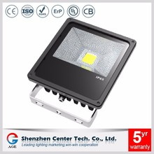 50w outdoor led solar flood light with bridgelux chip