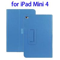 Alibaba China 2 Folding Litchi Texture smart cover for ipad mini 4