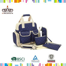 Eco-friendly baby diaper bags mommy nappy changing bags for baby