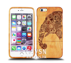 Hot products OEM design natural wood 3d phone case for iphone 6 plus case.