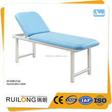 RC-038T Manufacturer Comfort Steel Clinic Folding Exam Bed