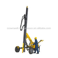 Atlas Copco Drill rigs and rock drills (AC Drill rigs and rock drills ) AirROC D40 W: Surface down the hole rig