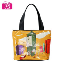 High quality leather beach tote bag women tote bag