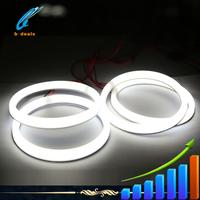 2015 hotest car led light cotton angel eyes headlight ring for toyota