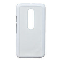 SUN-FLY OEM New 3D sublimation custom blank PC Clear mobile phone case for MOTO G3 Case