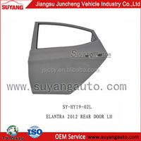 Good quality metal juncheng car spare parts rear door for Hyundai elantra 2012