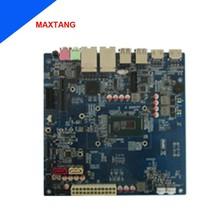 mini itx i5 motherboard 1080p hdmi board for 4 lan