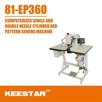 Keestar 81-EP360 industrial computer sewing machine double needle price
