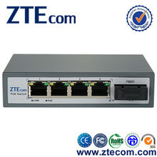 IEEE802.3at New 4 port Ethernet Network with 1 fiber POE Switch optical fiber switch