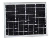 HQ High efficiency 50W Mono crystalline solar module with TUV,CE,ISO,MCS,UL,ROHS