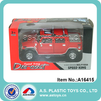 Children cool pull back 1:32 scale Red Die cast toy car model