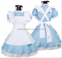 Plus Adult Sexy Wisely New Japanese School Girl Sailor Uniform Dress Maid Cosplay Costume