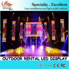 RGX p8 Energy Saving LED Video Wall Screen Electronic LED Display Board Outdoor LED Display