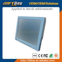 10.4 inch Semi-rugged high brightness lcd touch vesa monitor