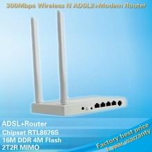 xtdp-link 300Mbps Wireless N ADSL2+Modem Router