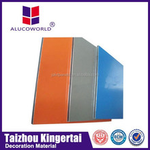 Alucoworld low price high impact strength exterior siding panels
