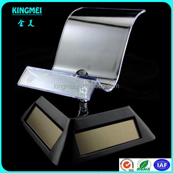 Rotate plexiglass acrylic mobile phone display single cellphone holder best selling clear cell phone