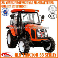 60hp 4wd ace tractor with front loader